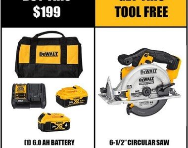 Home Depot Dewalt Brushless Circular Saw Bundle Black Friday 2020