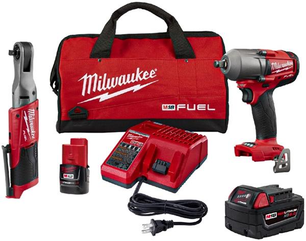 Milwaukee 2591-22 Automotive Tool Bundle Deal