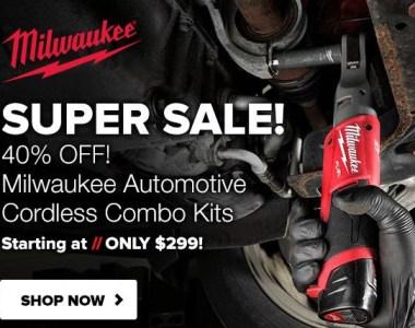 Milwaukee Cordless Automotive Power Tools Deal Tool Nut 10-1-2020