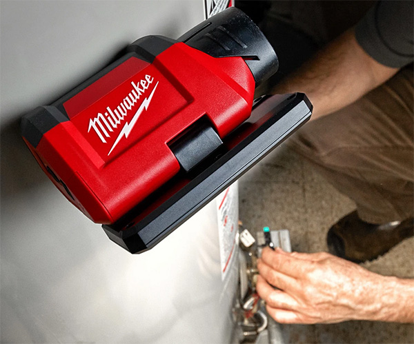 Milwaukee M12 Rover LED Flood Light 2367-20 Magnetic Mount and Pivoting Head
