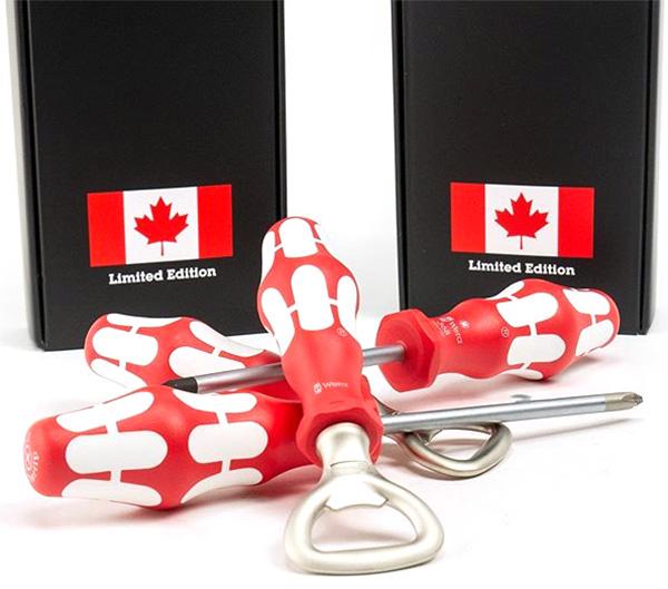 Wera Canada Screwdriver and Bottle Opener Set
