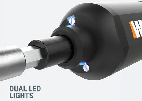 Worx 4V Cordless Screwdriver LED Worklights