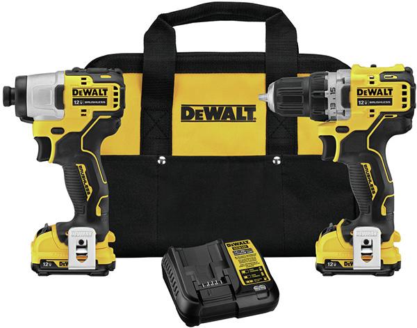 Dewalt Xtreme 12V Max Brushless Drill and Impact Driver Combo Kit