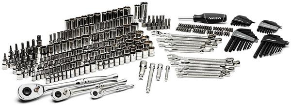 Husky 270pc Mechanics Tool Set Home Depot Black Friday 2020 Deal Contents