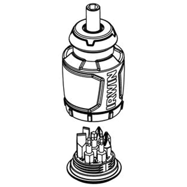 Irwin Stubby Multi-Bit Screwdriver Drawing