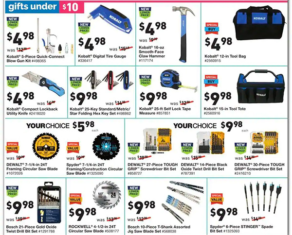 Lowes Black Friday 2020 Tool Deals Page 9