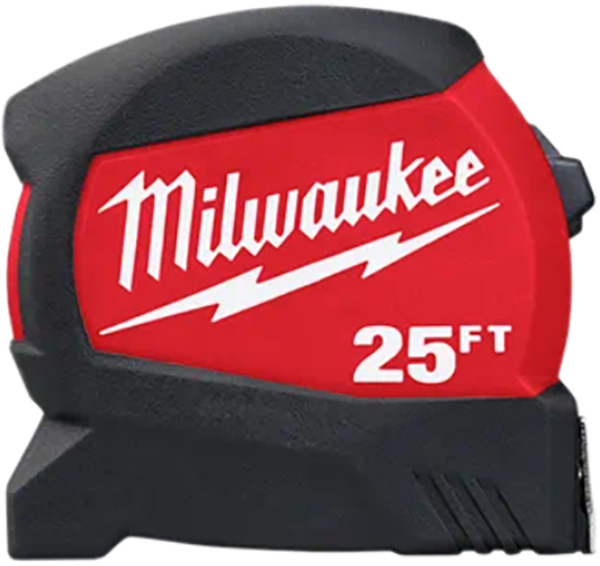 Milwaukee 48-22-0425 Compact Tape Measure 25-Foot