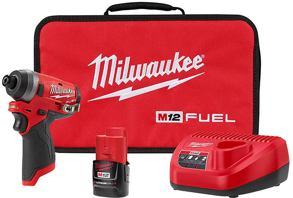 Milwaukee M12 Fuel Impact Driver Deal 2553-21