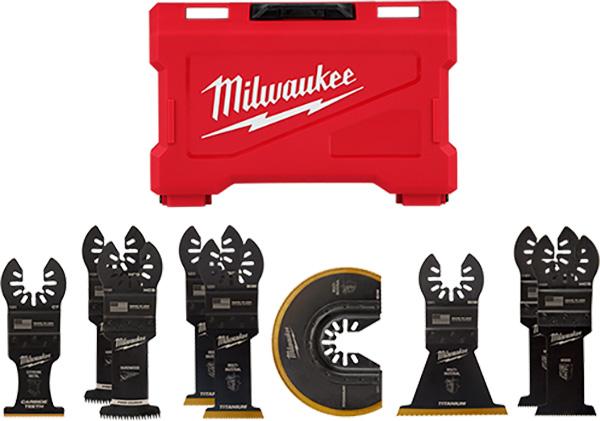 Milwaukee Oscillting Multi-Tool Blade Set