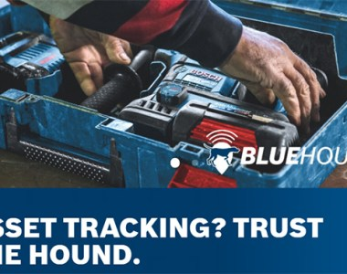 Bosch BlueHound Tool Tracking Tech