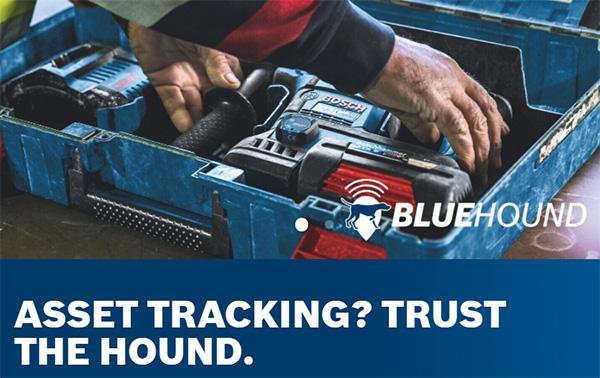 Bosch BlueHound Tool Tracking Tech