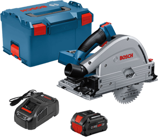 Bosch GKT18V-20GCL14 Cordless Track Saw Kit