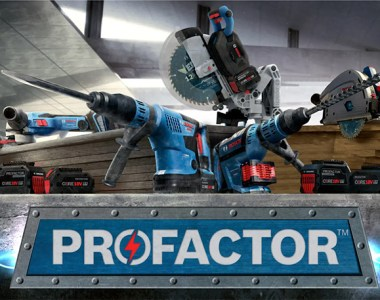 Bosch Profactor Cordless Power Tools Hero