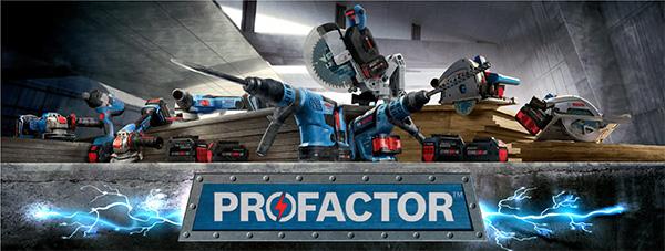 Bosch Profactor Cordless Power Tools