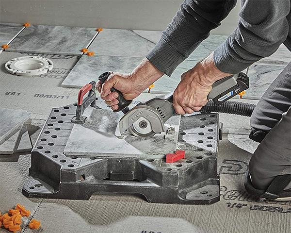 Dremel 20V Max Cordless Ultra-Saw Cutting Tile
