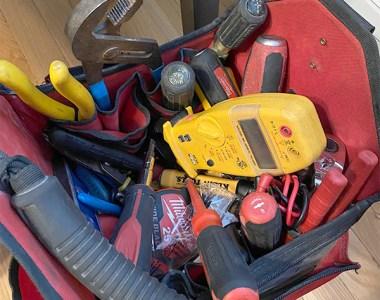 Electrician Tool Bag 12-2020