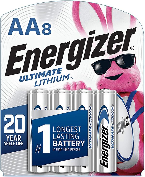 Energizer Lithium AA Batteries