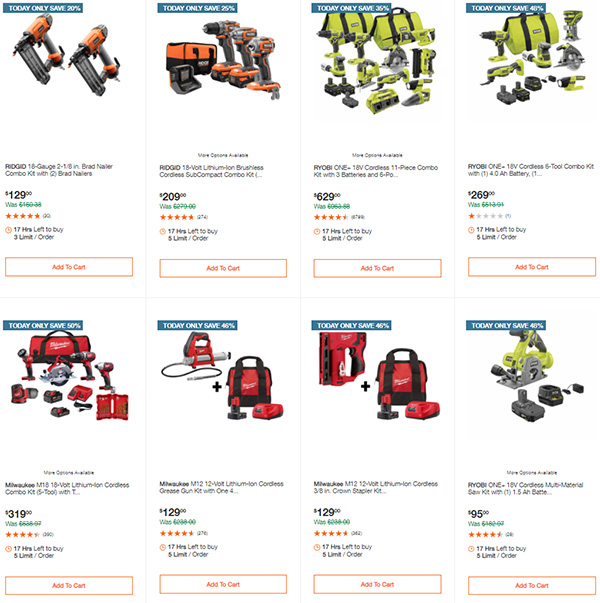 Home Depot Tool Deals of the Day 12-14-2020 Page 3