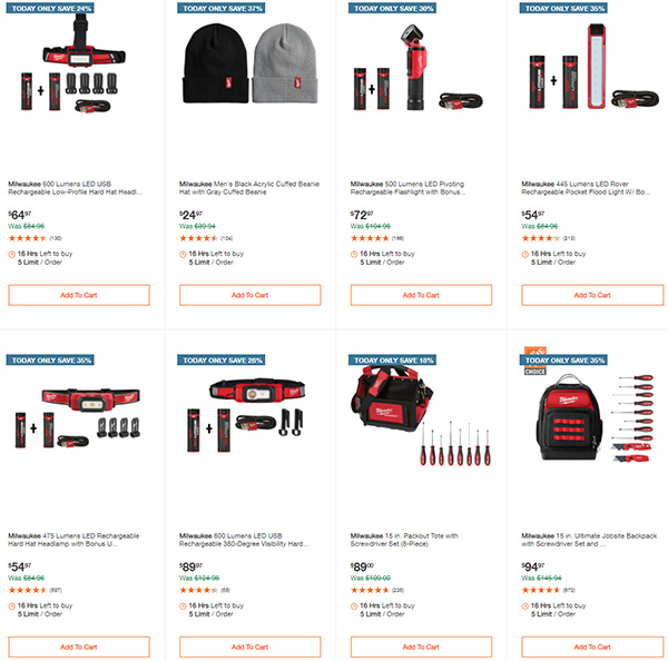 Home Depot Tool Deals of the Day 12-28-20 Page 8