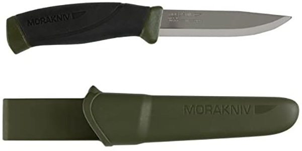 Mora Companion Knife Stainless Steel Green Handle
