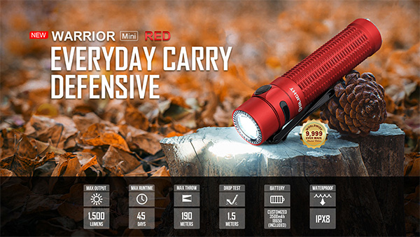 Olight Warrior Mini Red