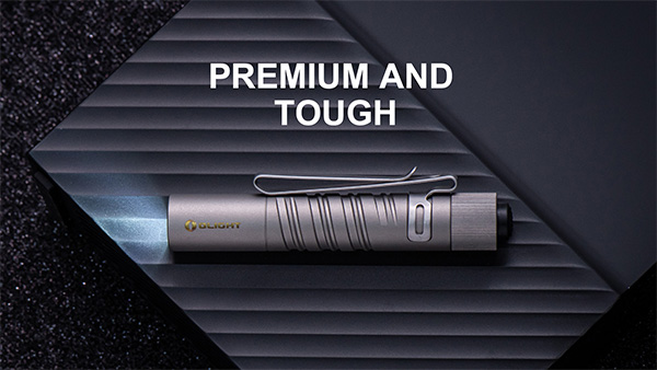 Olight i3T Titanium LED Flashlight Premium and Tough