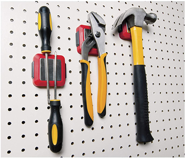Torin Magnetic Pegboard Accessory with Tools