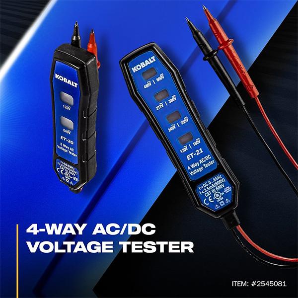 Kobalt Voltage Tester at Lowes