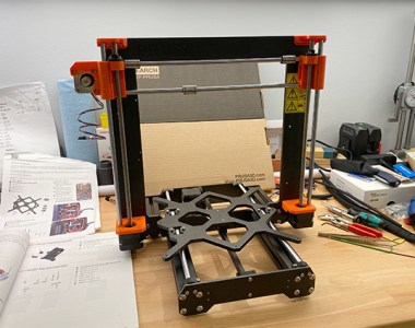 Prusa 3D Printer XYZ Frame Completed