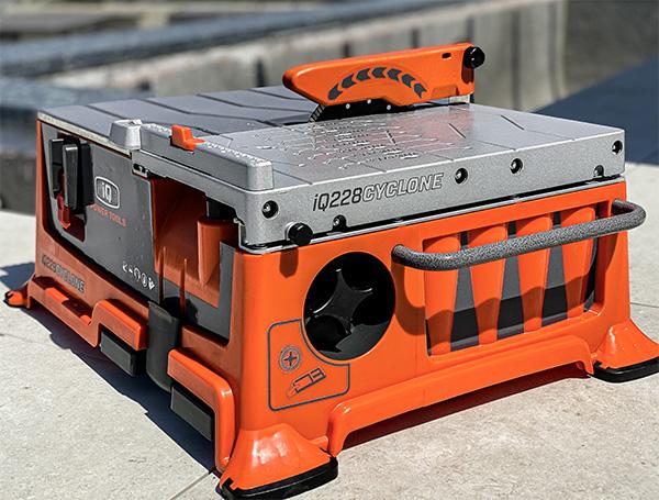 iQ228 Cyclone Dry Cutting Table Top Tile Saw
