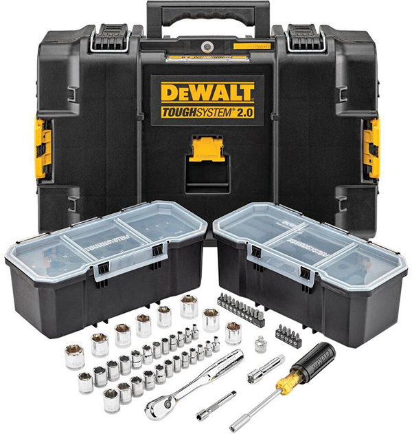 Dewalt ToughSystem Mechanics Tool Set DWMT45153