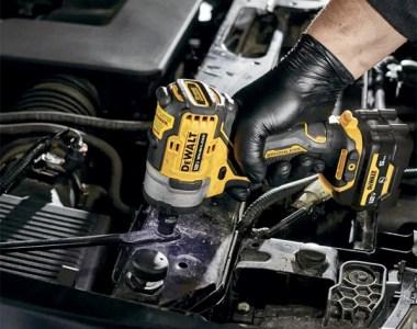 Dewalt Xtreme 12V Max Brushless Impact Wrench Used in Engine Bay