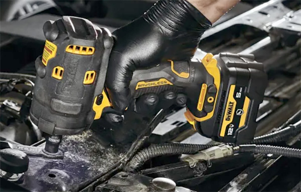 Dewalt Xtreme 12V Max Brushless Impact Wrench with Protective Boot
