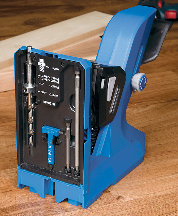 Kreg 720 Pocket Hole Drilling Jig with Built-in Accessory Storage