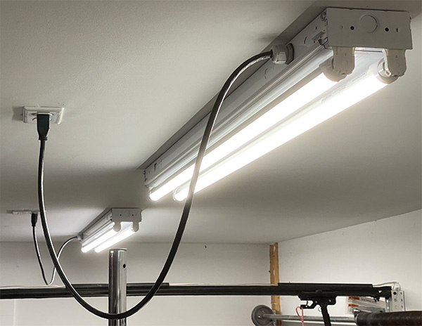 LED Light Fixture Ceilings with Hanging Cords