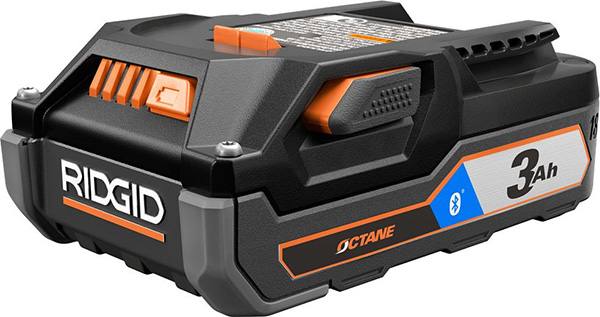Ridgid 18V Compact 3Ah Battery with Bluetooth
