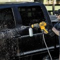 Dewalt DCPW550P1 20V Cordless Power Cleaner Washing a Truck