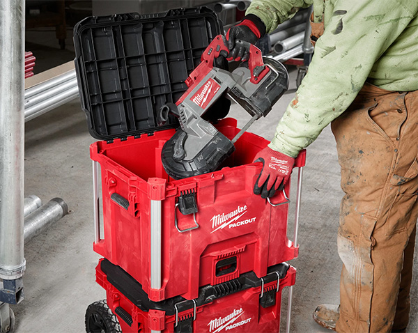 Milwaukee Packout XL Tool Box 48-22-8429 Fitting Large Cordless Power Tools