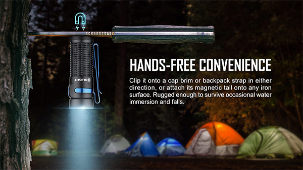 Olight Baton 3 Magnetic Tailcap