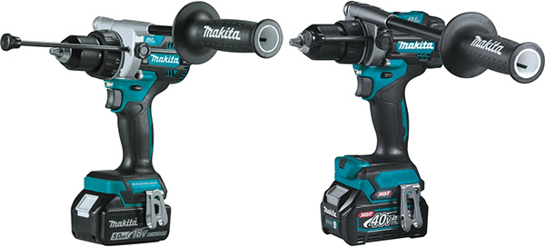 Makita 18V vs 40V XGT Brushless Hammer Drill Comparison