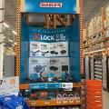 Makita X-Lock Angle Grinder Display at Home Depot
