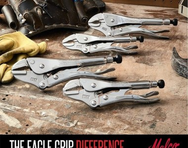 Malco Eagle Grip Locking Pliers Hero Image