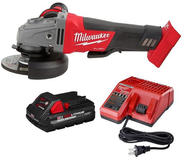 Milwaukee M18 Home Depot Deals of the Day 4-8-2021 Angle Grinder Bundle