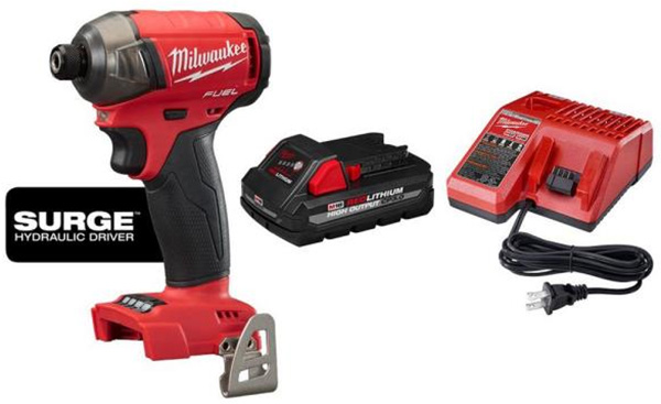 Milwaukee M18 Home Depot Deals of the Day 4-8-2021 Surge Driver Bundle