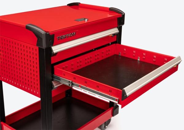 Tekton Tool Cart Drawer Full Extension