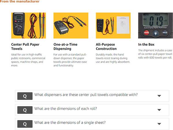 Amazon Commercial Digital Multimeters Description