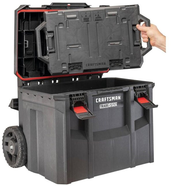 Craftsman TradeStack Rolling Tool Box Lid with Removable Versastack Adapter