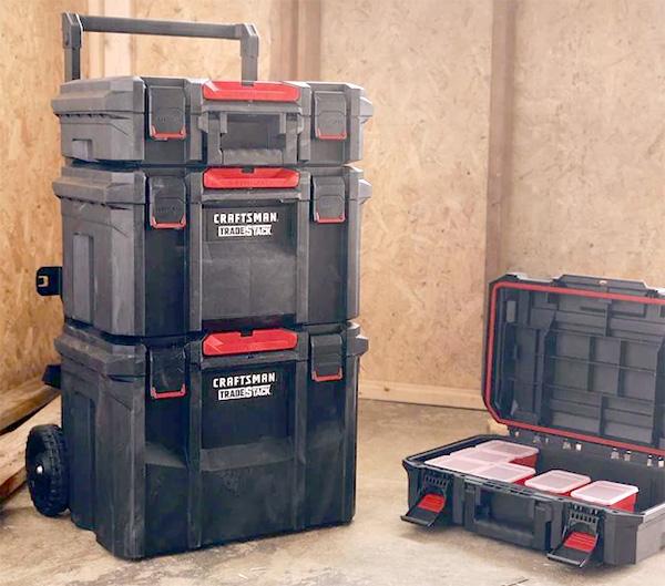 Craftsman TradeStack Tool Box Combo Hero