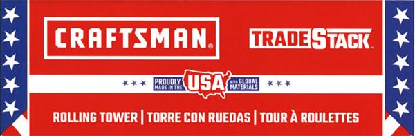 Craftsman TradeStack Tool Box Made in USA