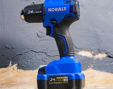 Kobalt 24V Max Cordless Heat Gun Hero